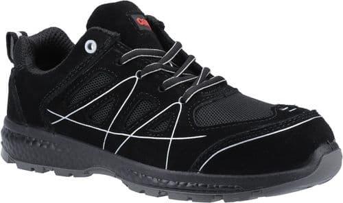 Centek FS314 Trainers Safety Black
